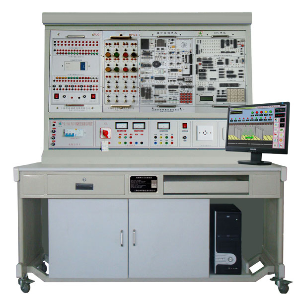 LGPD-205B PLC、单片机及微机原理综合实训装置