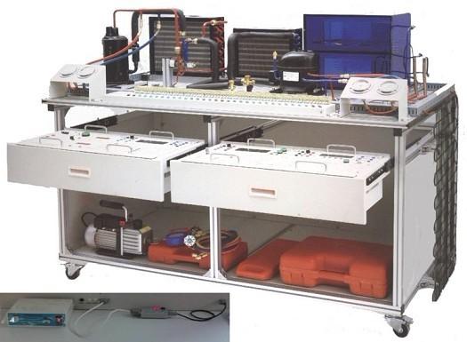 LG-ZBX05型 空调冰箱组装与调试实训考核装置(智能考核型)