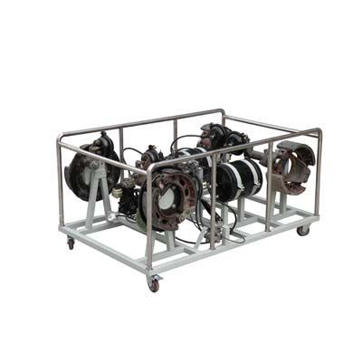 气压制动系统结构组成及其工作