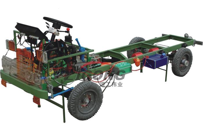 小四轮拖拉机透明整车模型