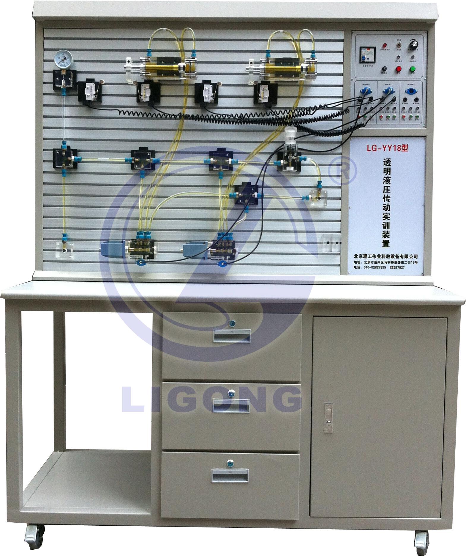 一,液压传动实训装置主要特点图片