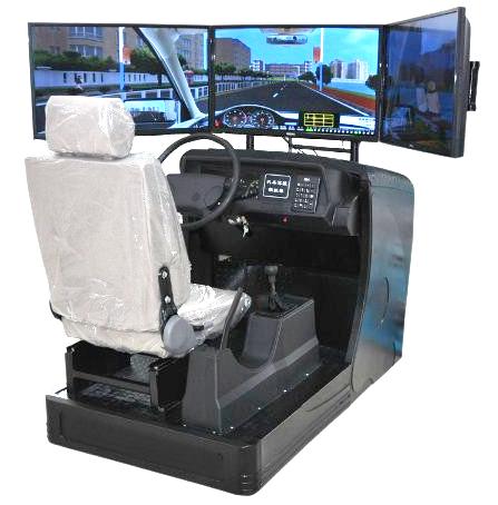 lg-sp32型 三屏汽车驾驶模拟器(钢塑结构