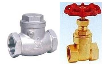 止回阀铜质闸阀    6,实验装置采用变频器与plc相结合的控制方式.图片